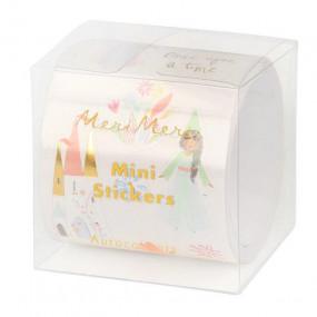 Rolo Mini Stickers Princesas