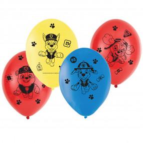 6 Balões Patrulha Pata