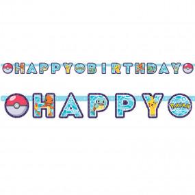 Banner Happy Birthday Pokémon