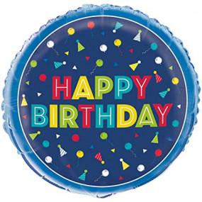 Balão Happy Birthday 46cm