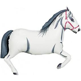 Balão Cavalo Branco 96cm