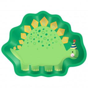Pratos Dinossauro Recortado
