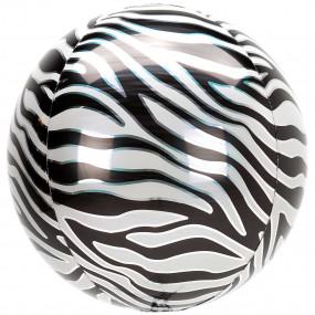 Balão Orbz ZEBRA