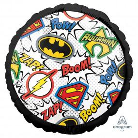 Balão Super Heróis 45cm