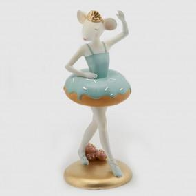 Decoração Bailarina Azul