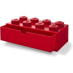 Caixa Lego Gaveta Secretária Vermelha