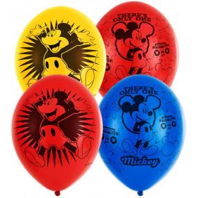 Balões Latex Mickey conj. 6