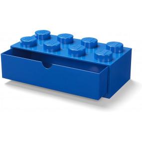 Caixa Lego Gaveta Secretária Azul