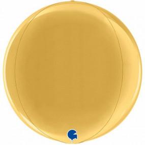 Balão ORBZ Dourado 38cm