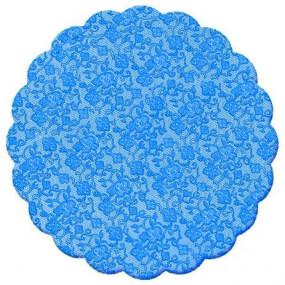 100 Tapetinhos Brigadeiro Azul Royal