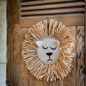Decor Parede Leão