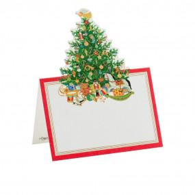 Cartões Marcadores Christmas Tree