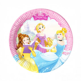Pratos Princesas Disney