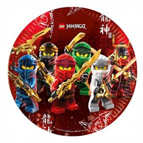 Pratos Ninjago
