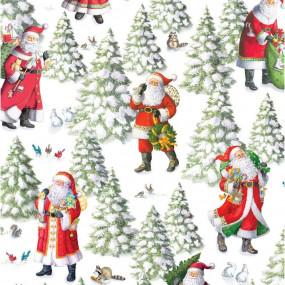 ROLO PAPEL Woodland Santa