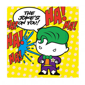 Guardanapos Batman V Joker