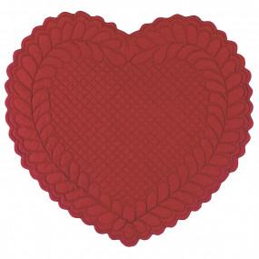 Individual Coração VERMELHO