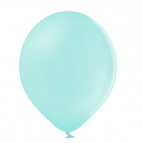 10 Balões Pastel Menta 23cm