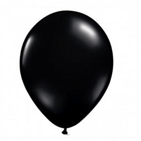 10 Balões Latex Pretos 23CM