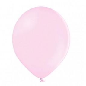 50 Balões Latex Rosa Pastel 23cm