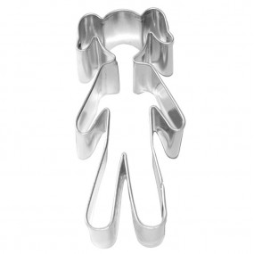 Cortador Menina 7 cm