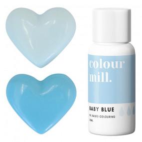 Corante COLOUR MILL Azul Bebé– 20ml