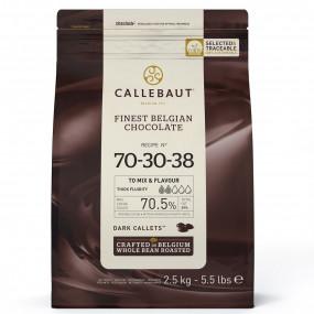 Chocolate Negro 70,5% Callebaut 2,5Kg