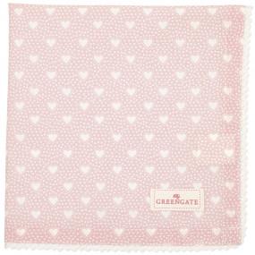 Greengate Guardanapo Pano Lace Penny Pale Pink