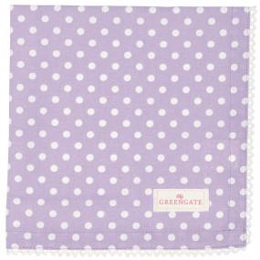 Greengate Guardanapo Lace Spot Lavender 40cm