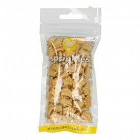 Sprinkles Comestíveis Coroas Douradas