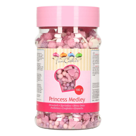 Sprinkles Princesas Medlye 180gr