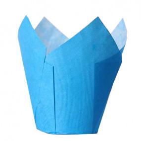 Conj. 36 Formas Túlipa Azul