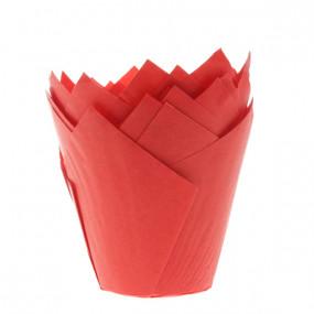 Conj. 36 Formas Túlipa Vermelho