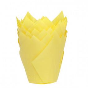 Conj. 36 Formas Túlipa Amarela