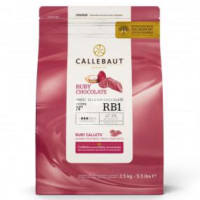 Chocolate Ruby Callebaut 2,5Kg