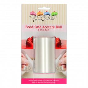 Rolo Acetato Pastelaria - 8cm