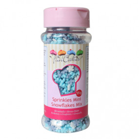 Confetis Mini Flocos Neve