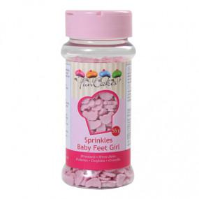 Confetis Pézinhos Rosa