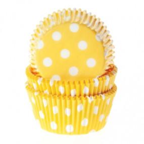 Formas Amarelas Bolinhas Brancas - Conj. 50