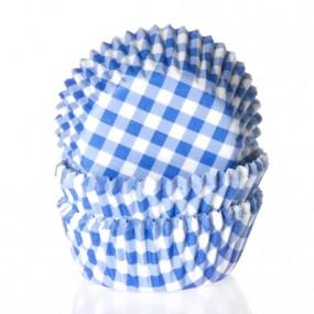 Formas Xadrez Azul - Conj. 50