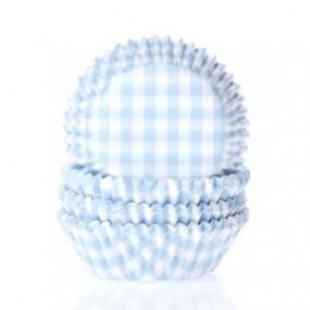 Formas Xadrez Azul- Conj. 50
