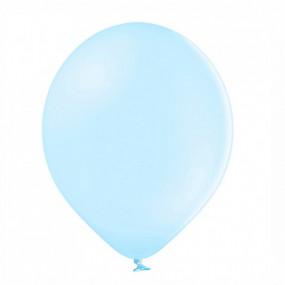 10 Balões Latex Azul Claro Pastel 23CM