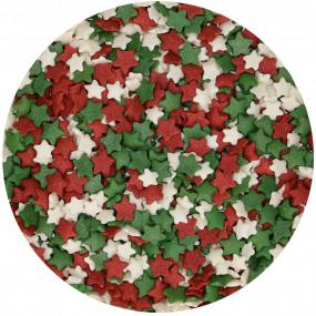 Mini Confetis Estrelas Natal