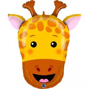 Balão cabeça Girafa 74cm
