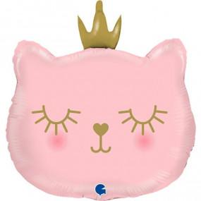 Balão Gata Princesa 66cm