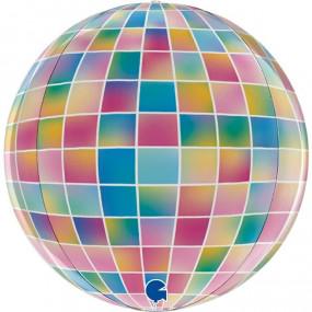 Balão Disco Globo 38cm