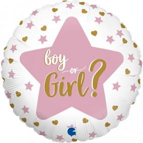 Balão Boy or Girl 46cm