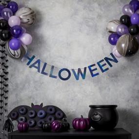 Grinalda Halloween Balões