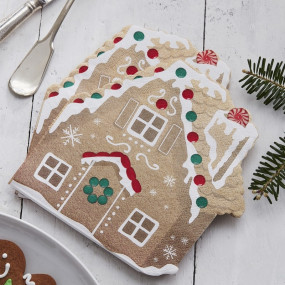 Guardanapos Ginger Bread House