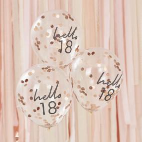 Balões Confetis - 18 Anos